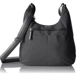 NWT Baggallini Hobo Crossbody Bag Black